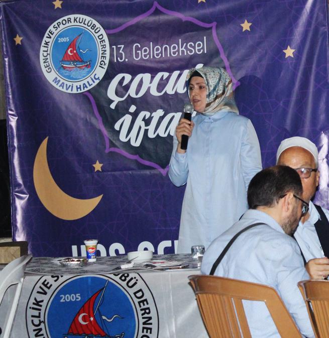 13. Geleneksel İftar Programı - HABERLER - MAVİ HALİÇ Gençlik ve Spor Kulübü Derneği | Mavi Haliç