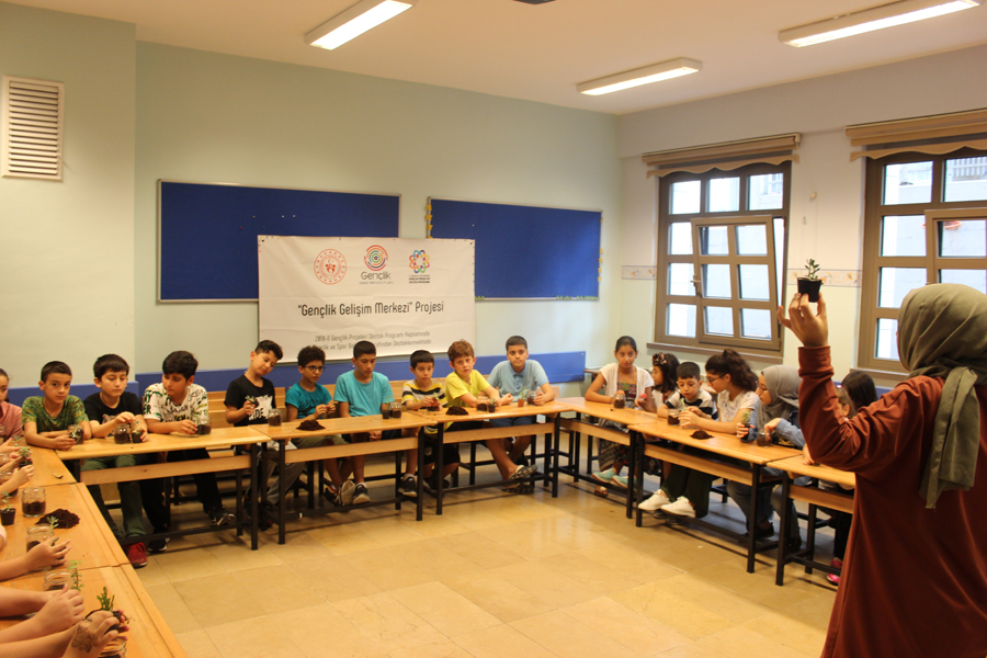Teraryum Atölyesi - MAVİ HALİÇ Gençlik ve Spor Kulübü Derneği | Mavi Haliç