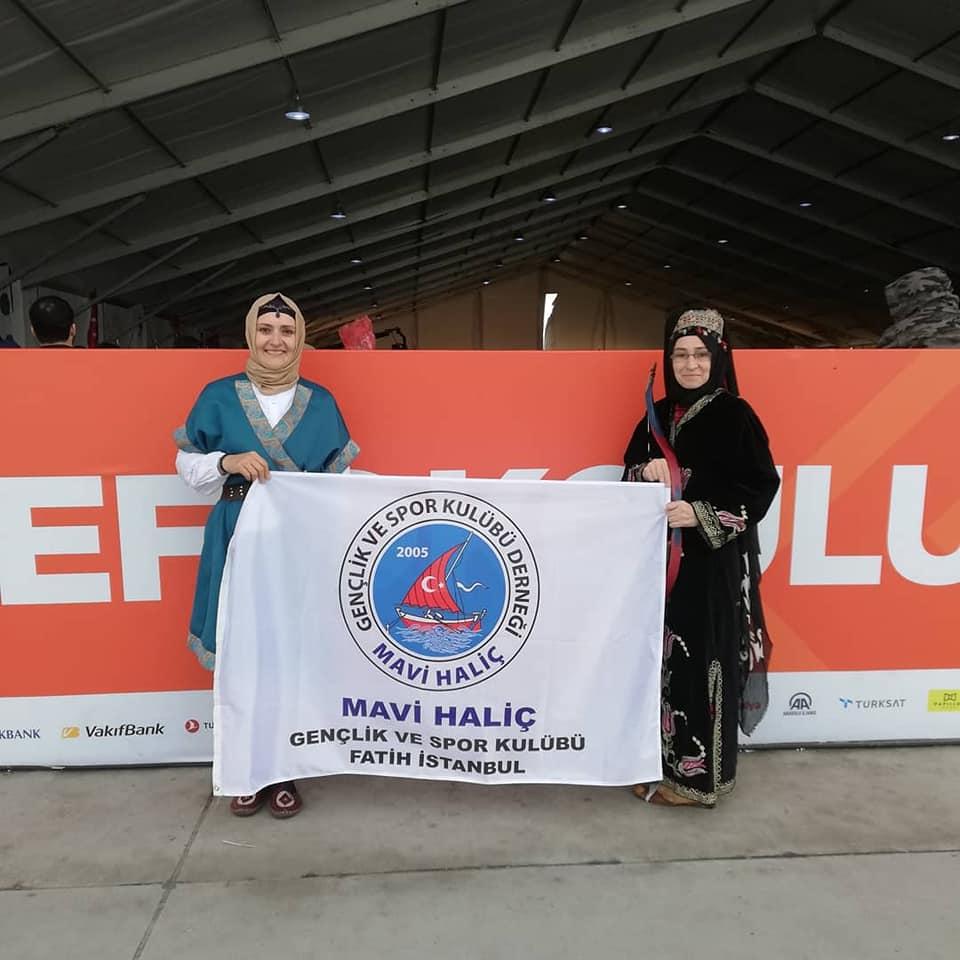 ETNOSPOR Büyük Bayanlar kategorisinde sporcularımız... - HABERLER - MAVİ HALİÇ Gençlik ve Spor Kulübü Derneği | Mavi Haliç