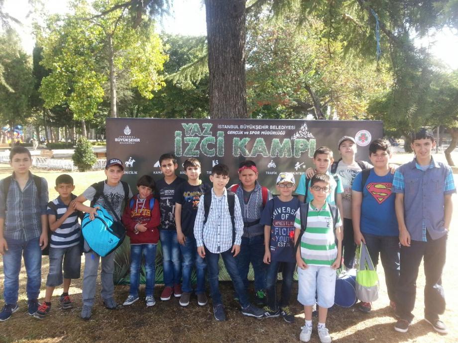 İBB İzci Kampı 2016 - MAVİ HALİÇ Gençlik ve Spor Kulübü Derneği | Mavi Haliç